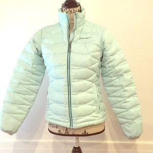 Eddie Bauer light blue jacket